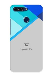 Huawei Honor 8 Pro Blue Abstract Mobile Cover Design