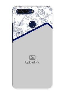 Huawei Honor 8 Pro Floral Design Mobile Cover Design