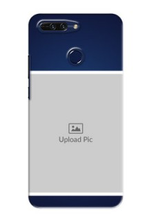 Huawei Honor 8 Pro Simple Blue Colour Mobile Cover Design