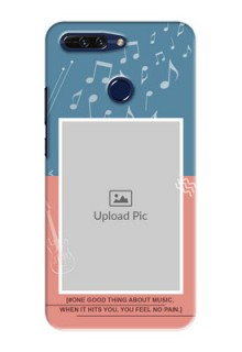 Huawei Honor 8 Pro 2 colour backdrop with music theme Design Design