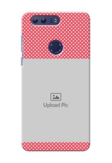 Huawei Honor 8 White Dots Mobile Case  Design