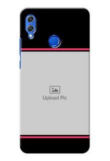 Huawei Honor 8X Photo With Text Mobile Case Design