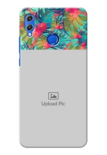Huawei Honor 8X colourful watercolour floral Design