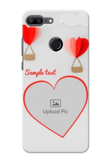 Huawei Honor 9 Lite Love Abstract Mobile Case Design