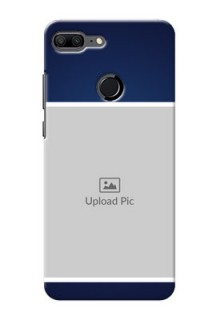 Huawei Honor 9 Lite Simple Blue Colour Mobile Cover Design
