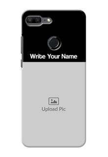 Honor 9 Lite Photo with Name on Phone Case