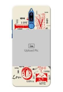 Huawei Honor 9i Lovers Picture Upload Mobile Case Design