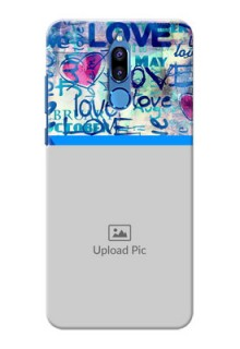 Huawei Honor 9i Colourful Love Patterns Mobile Case Design