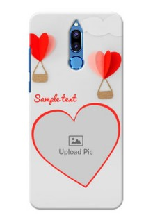 Huawei Honor 9i Love Abstract Mobile Case Design