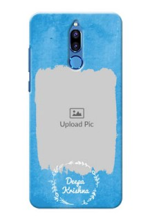 Huawei Honor 9i watercolour design with vintage floral Design