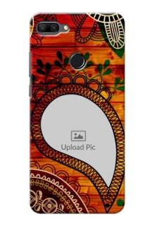 Huawei Honor 9n custom mobile cases: Abstract Colorful Design