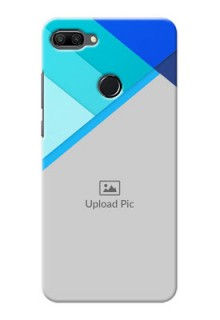 Huawei Honor 9n Phone Cases Online: Blue Abstract Cover Design