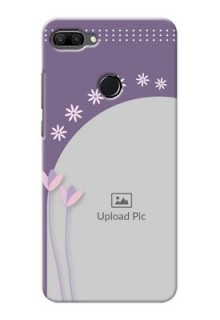 Huawei Honor 9n Phone covers for girls: lavender flowers design