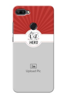 Huawei Honor 9n custom mobile phone cases: My Dad Hero Design