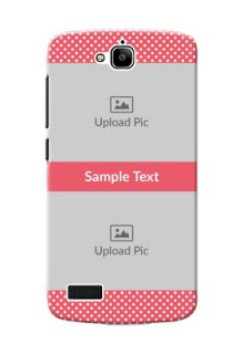 Huawei Honor Holly White Dots Mobile Case  Design