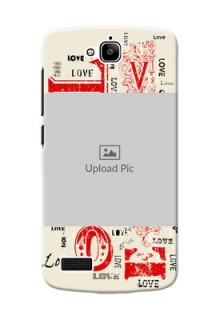 Huawei Honor Holly Lovers Picture Upload Mobile Case Design