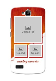 Huawei Honor Holly Wedding Memories Mobile Cover Design