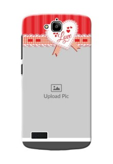 Huawei Honor Holly Red Pattern Mobile Cover Design