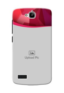 Huawei Honor Holly Red Abstract Mobile Case Design
