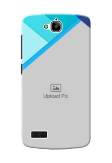 Huawei Honor Holly Blue Abstract Mobile Cover Design