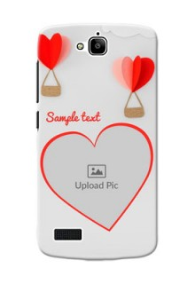 Huawei Honor Holly Love Abstract Mobile Case Design