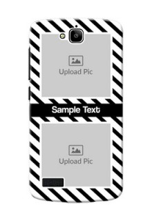 Huawei Honor Holly 2 image holder with black and white stripes Design