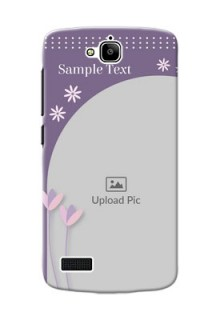 Huawei Honor Holly lavender background with flower sprinkles Design Design