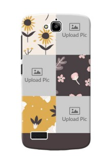 Huawei Honor Holly 3 image holder with florals Design