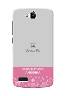 Huawei Honor Holly plain birthday line arts Design Design