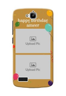 Huawei Honor Holly 2 image holder with birthday celebrations Design