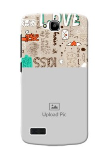 Huawei Honor Holly love doodle  pattern design Design Design