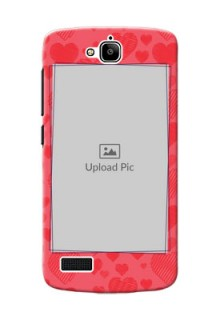 Huawei Honor Holly multiple hearts symbols design Design Design