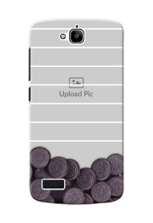 Huawei Honor Holly oreo biscuit pattern with white stripes Design Design