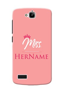 Honor Holly Custom Phone Case Mrs with Name