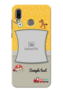Huawei Honor Play Mobile Cases Online: Baby Picture Upload Design