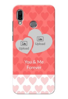 Huawei Honor Play personalized phone covers: Couple Pic Upload Design