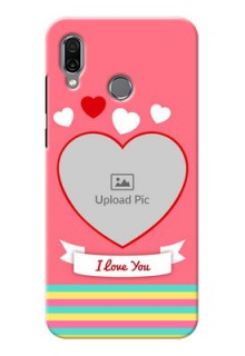 Huawei Honor Play Personalised mobile covers: Love Doodle Design