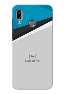 Huawei Honor Play Back Covers: Simple Pattern Photo Upload Design