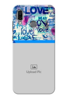Huawei Honor Play Mobile Covers Online: Colorful Love Design