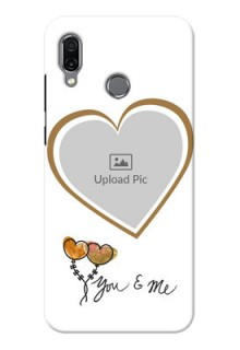 Huawei Honor Play customized phone cases: You & Me Design