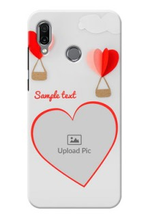 Huawei Honor Play Phone Covers: Parachute Love Design