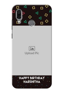 Huawei Honor Play custom mobile cases with confetti birthday design