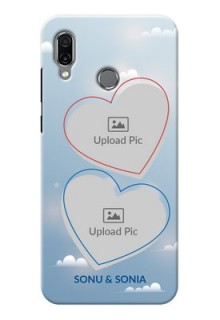 Huawei Honor Play Phone Cases: Blue Color Couple Design