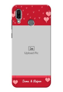 Huawei Honor Play Mobile Back Covers: Valentines Day Design