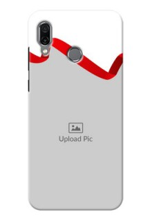 Huawei Honor Play custom phone cases: Red Ribbon Frame Design
