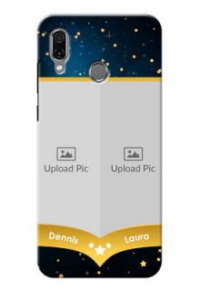 Huawei Honor Play Mobile Covers Online: Galaxy Stars Backdrop Design