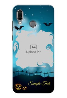 Huawei Honor Play Personalised Phone Cases: Halloween frame design