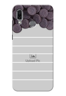 Huawei Honor Play Custom Mobile Covers with Oreo Biscuit Design