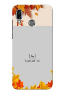 Huawei Honor Play Mobile Phone Cases: Autumn Maple Leaves Design