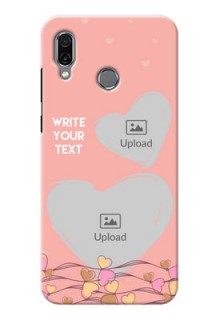 Huawei Honor Play customized phone cases: Love Doodle Design